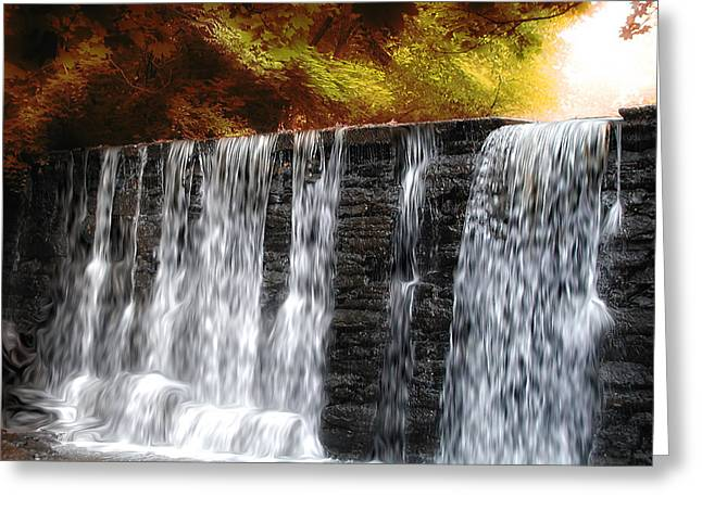 Waterfall Dreams Greeting Card