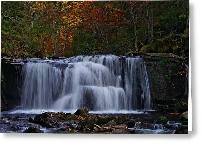 Waterfall Svitan Greeting Card