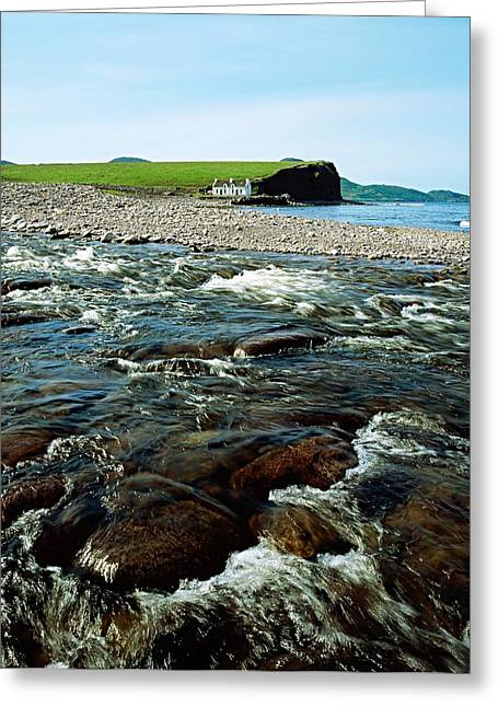 Waterville, Ring Of Kerry, Co Kerry Greeting Card