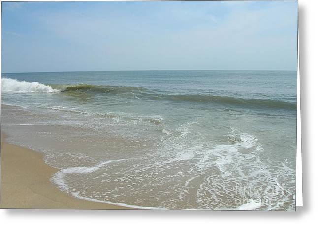 Greeting Card featuring the photograph Wave by Arlene Carmel