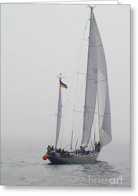 We Are Sailing ... Greeting Card by Heiko Koehrer-Wagner