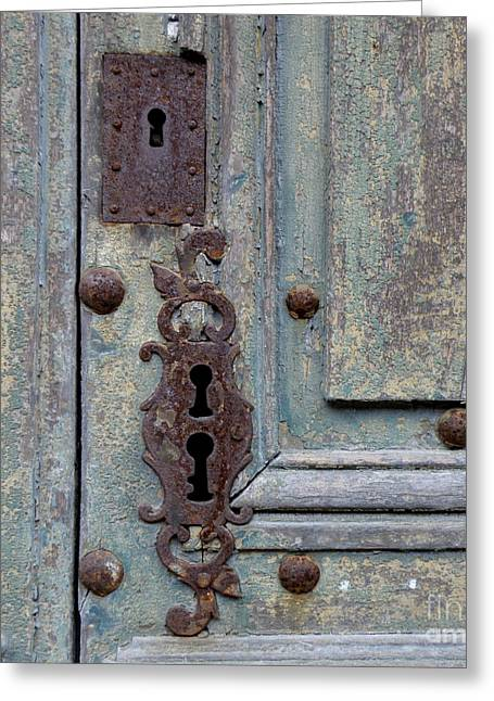 Greeting Card featuring the photograph Weathered by Lainie Wrightson
