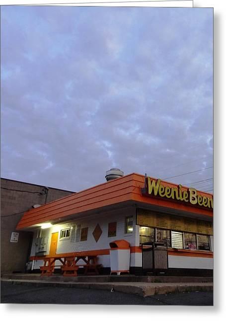 Weenie Beenie Greeting Card