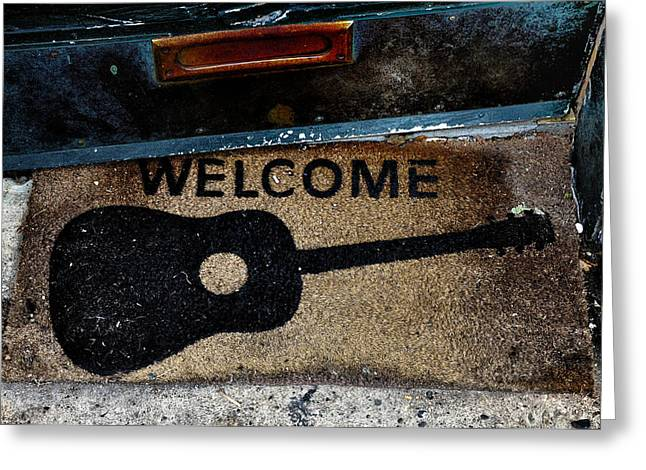Welcome Greeting Card by Bill Cannon
