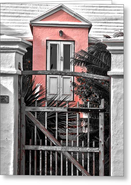 Welcome Greeting Card by Michael Braxenthaler