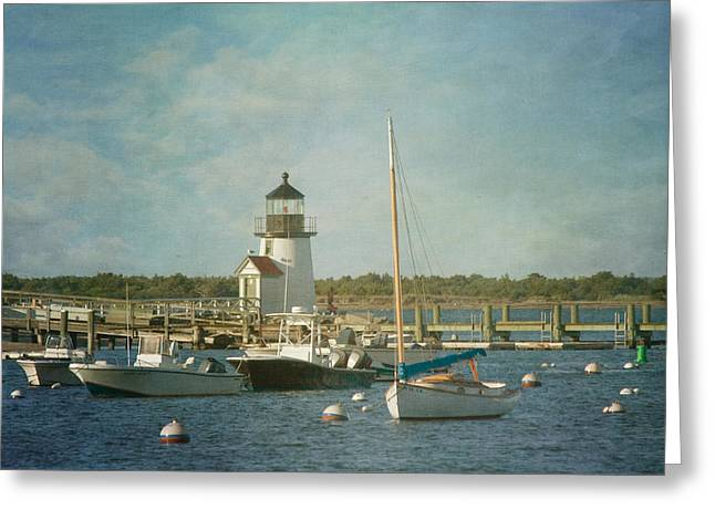 Welcome To Nantucket Greeting Card