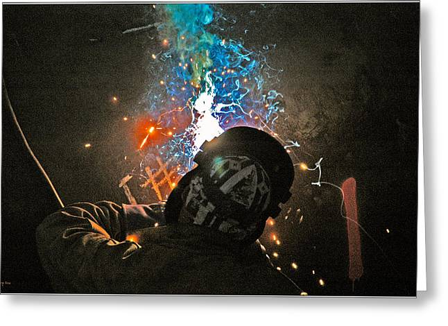 Welding Greeting Card