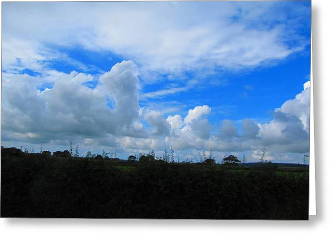 Welsh Sky Greeting Card