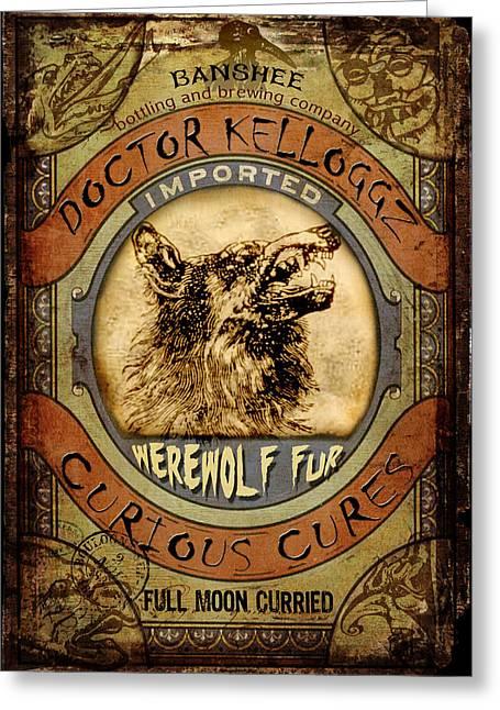 Werewolf Fur  Greeting Card
