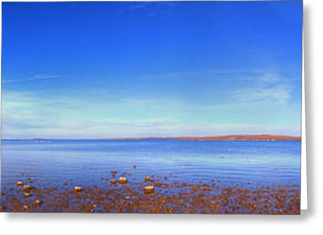 West Bay In Traverse City Greeting Card by Twenty Two North Photography