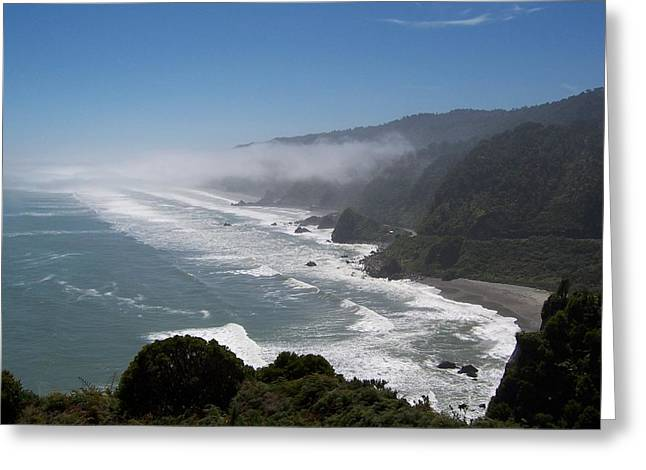 West Coast - South Island 2 Greeting Card by Peter Mooyman