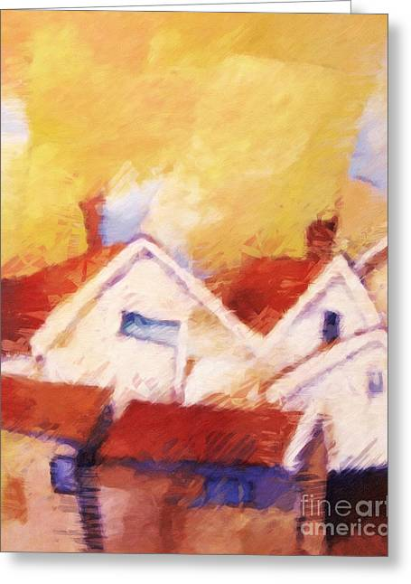 Westcoast Sweden Greeting Card by Lutz Baar