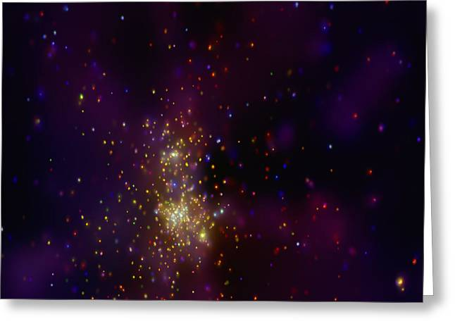 Westerlund 2 Star Cluster Greeting Card by Nasa