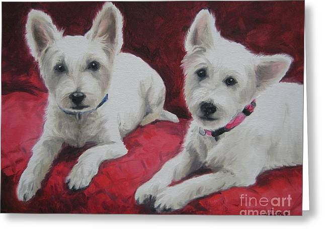 Westies Greeting Card