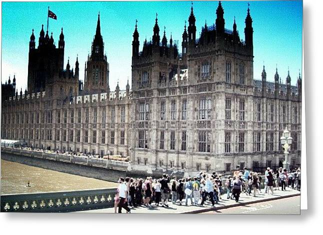 Westminster, London 2012 | #london Greeting Card by Abdelrahman Alawwad
