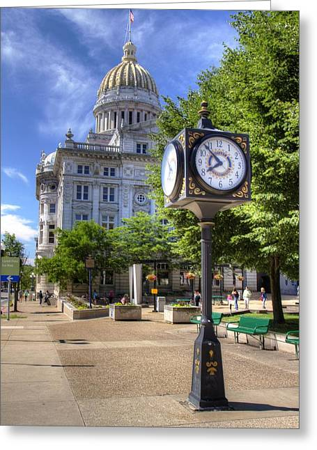 Westmoreland County Courthouse Greeting Card