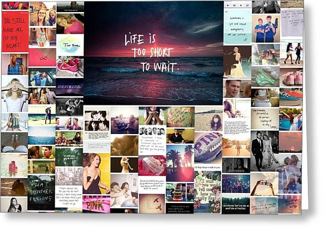 What Is Life To You Greeting Card by Holley Jacobs