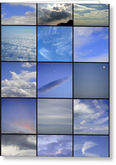What Lies Right Above Greeting Card