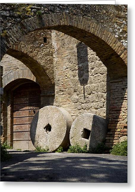 Wheeled Arches Greeting Card