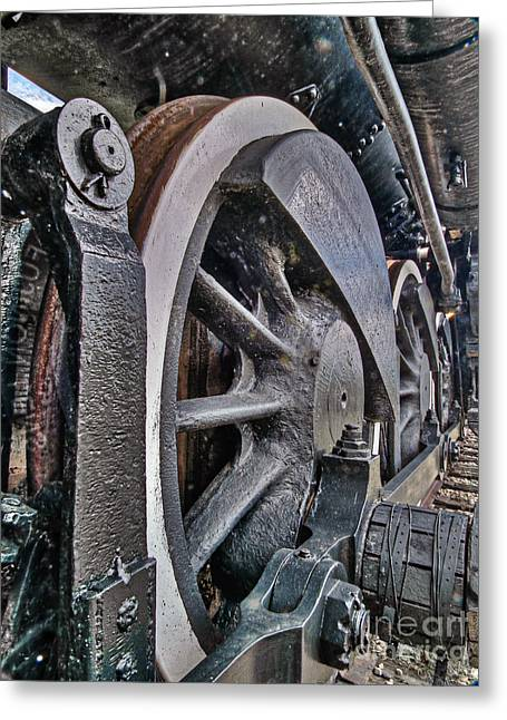 Wheels Of Steel Greeting Card