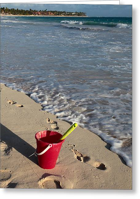 Greeting Card featuring the photograph When Can We Go To The Beach? by Karen Lee Ensley