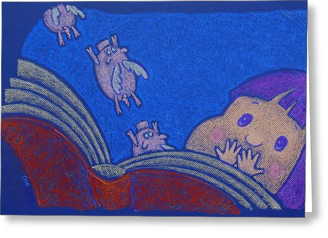 When Pigs Fly Greeting Card by wendy CHO