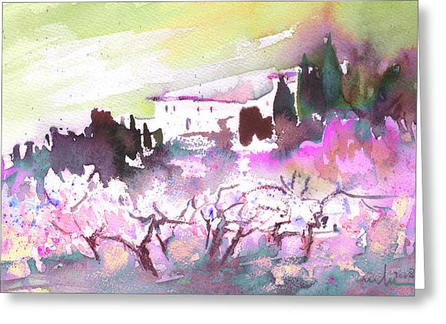When Trees Were Still Trees 02 Greeting Card by Miki De Goodaboom
