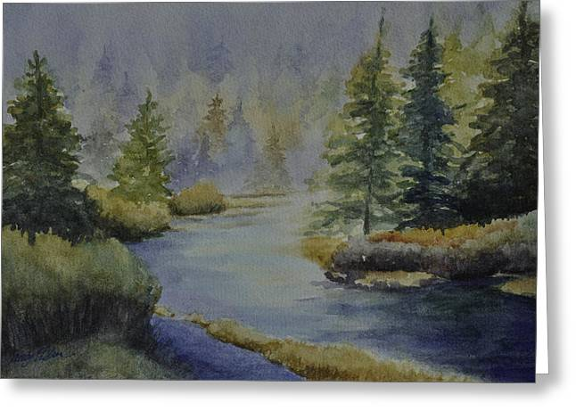Where The River Leads Greeting Card