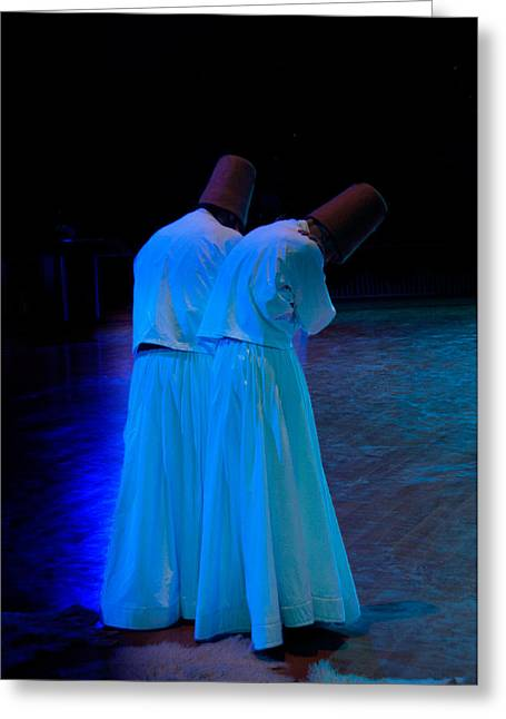 Whirling Dervish - 2 Greeting Card by Okan YILMAZ