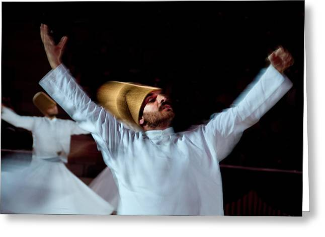 Whirling Dervish - 4 Greeting Card