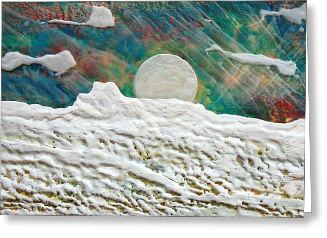 Whistler Moon Greeting Card by Terry Thomas