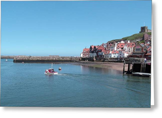 Whitby Postcard Greeting Card