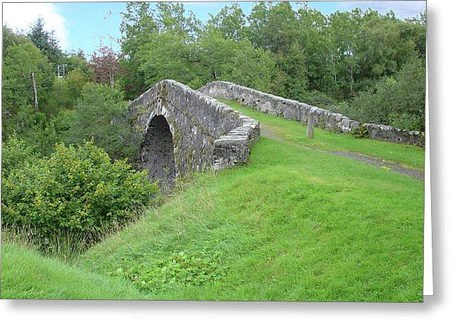 White Bridge Scotland Greeting Card
