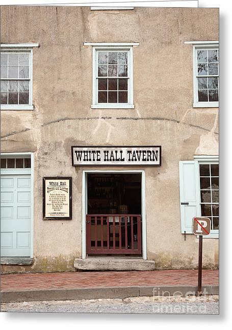 White Hall Tavern Greeting Card
