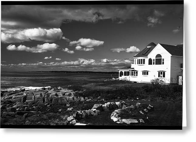 Greeting Card featuring the photograph White House At Nuble by Rick Bragan