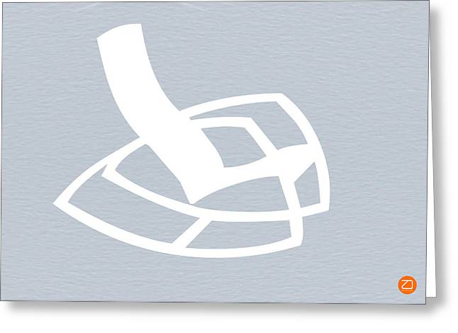 White Rocking Chair Greeting Card