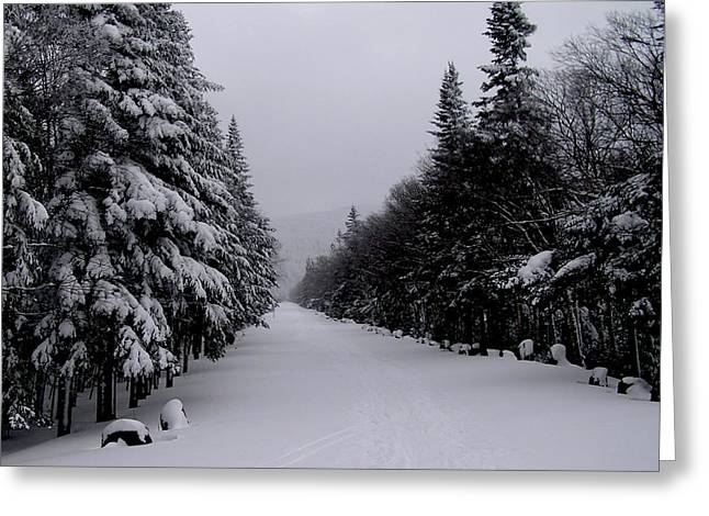 Whiteface Highway Greeting Card