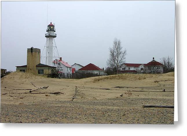 Whitefish Point Light Station Greeting Card