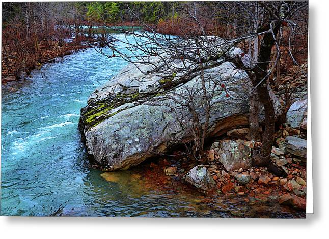 Greeting Card featuring the photograph White's Creek by Paul Mashburn