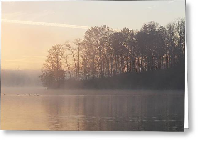 Whitewater Mist Greeting Card