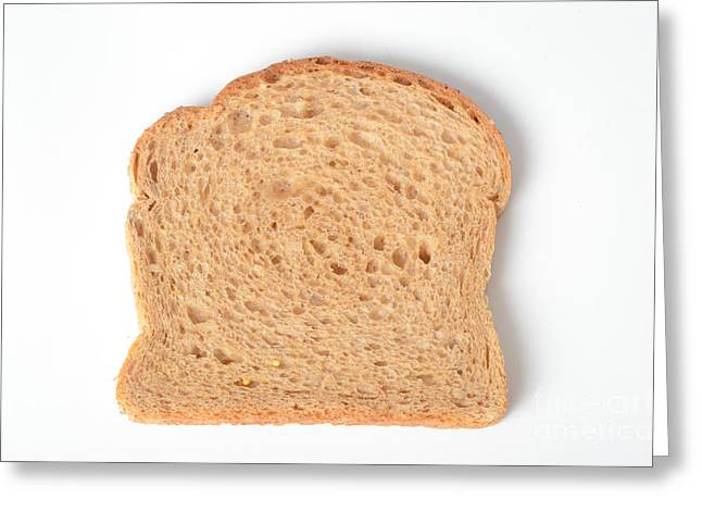 Wholewheat Bread Greeting Card by Photo Researchers, Inc.
