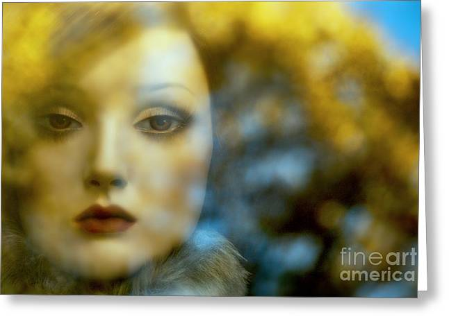 Greeting Card featuring the digital art Why Do I Love You Doll? by Rosa Cobos