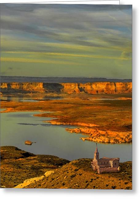 Wilderness Harbor Greeting Card by JR Phillips