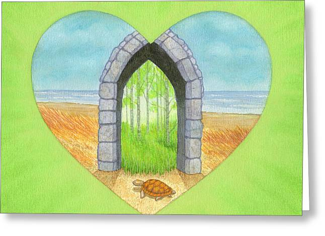 Will Greeting Card by Lisa Kretchman