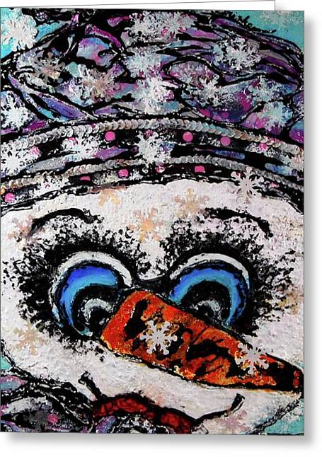 Will Ya Looky There Greeting Card by Laura  Grisham