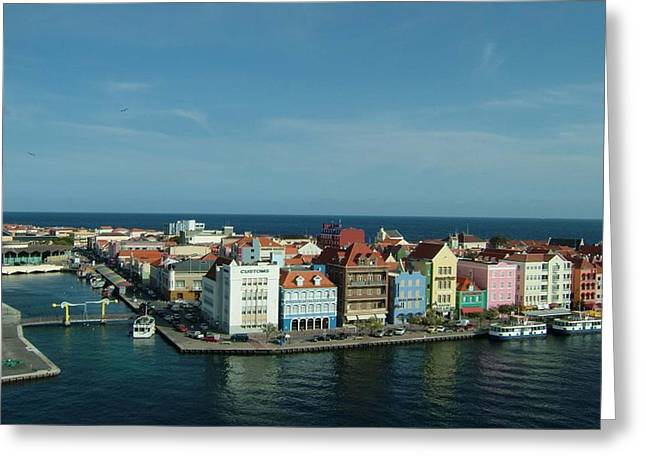 Willemstad Curacao Greeting Card