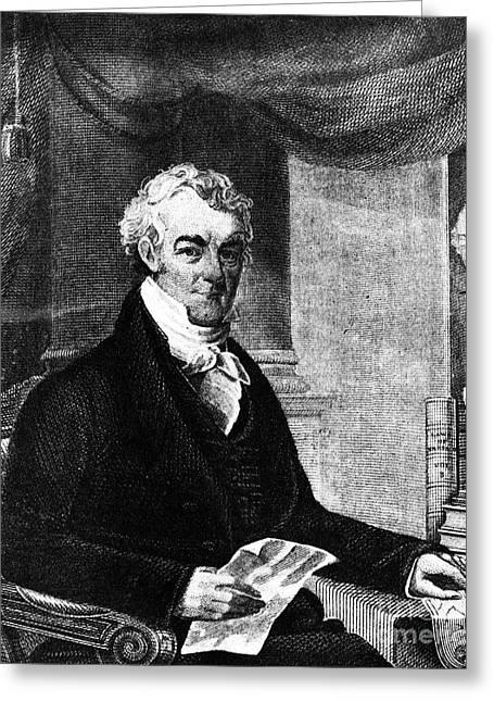 William Eustis (1753-1825) Greeting Card