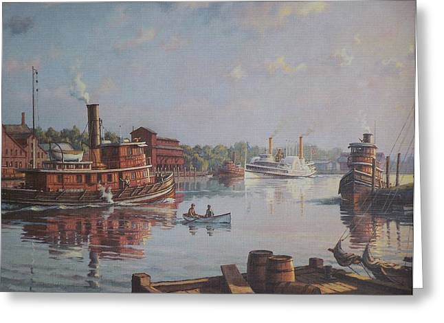 William G Muller Rondout Creek Greeting Card by Jake Hartz