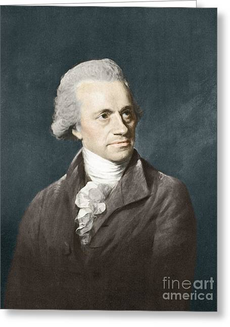 William Herschel, German Astronomer Greeting Card by Science Source