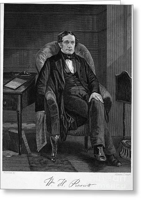 William Hickling Prescott Greeting Card by Granger